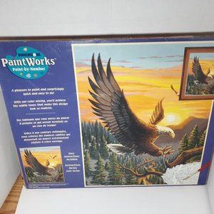 Eagle Aigle Dimensions Paint Works Paint by Number